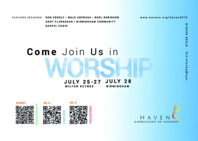 Worship Card 1 (front)